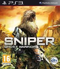 Sniper Ghost Warrior PS3 Sony PlayStation 3 Video Game Microsoft