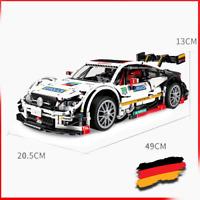 Custom C63 racecar Auto 42056 42083 42110 42099 technic Blöcke Bausteine MOC