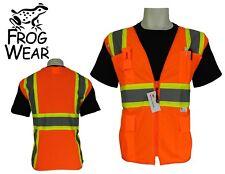 3M ANSI Class 2 Surveyor Style Pocket Safety Vest High Visibility Medium Orange