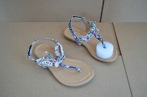New in Box Sarah Jayne Shore Girl's Toddler Black / Plum Sandals