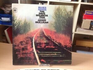 THE DAVE BRUBECK TRIO  FEATURING GERRY MULIGAN LP BLUES ROOTS ORIG INNER SLEEVE