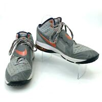 Nike CJ81 Trainer Max Shoes Men's Size 10.5 Wolf Gray Athletic Calvin Johnson