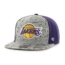 Los Angeles Lakers 47 Brand Rylander 47 Captain Cap Hat Snap back