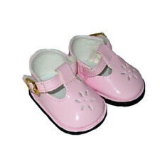 Pink Patent T Strap Shoes Fits 18 inch American Girl Dolls