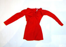 Barbie Fashion Red Top For Barbie Dolls fn811