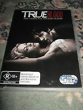 TRUE BLOOD COMPLETE SECOND SEASON 5 DISC SET GREAT COLLECTION DVD MOVIE