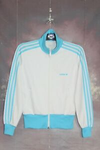 ADIDAS ORIGINALS RETRO VINTAGE BECKENBAUER TRACKSUIT TOP,JACKET,SIZE:SMALL,UK 10