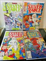 Silver Sable and the Wild Pack #7 -8-9-10 LOT Marvel BAGGED BOARDED