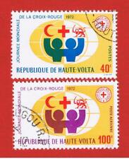 Burkina Faso #271 & #C105 VF used Red Cross  Free S/H