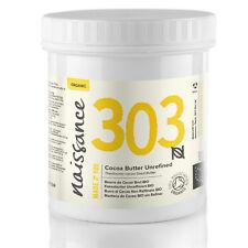 Naissance Beurre de Cacao BIO Brut - 250g - 100% pur, naturel, arôme gourmand