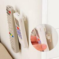 2PCS Sticky Hook Set TV Remote Control Key Practical Wall Storage Holder shan