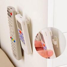 2PCS Sticky Hooks Set TV Air Conditioner Remote Control Key Wall Storage Holder