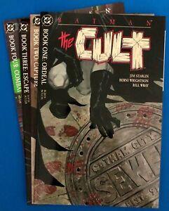 DC Comics. BATMAN: THE CULT.  Mini Series. #1 to 4.