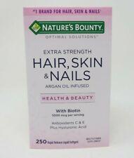 Nature's Bounty Extra Strength Hair Skin & Nails Vitamins 250 Softgels