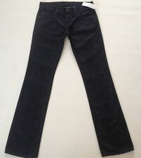 BNWT FRENCH CONNECTION DARK BLUE SLIM LEG JEANS SZ 6 L 32 FCUK NEW WITH TAGS