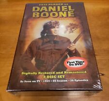 Daniel Boone: Season One (DVD) 1 Fess Parker classic 1960s tv show series NEW