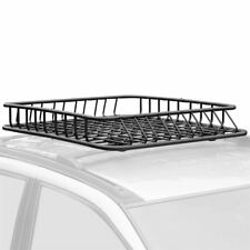"43.5"" x 39"" x 6"" Steel Roof Rack Cargo Storage Basket"
