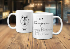 Any Age Birthday Personalised Coffee/Tea Mug Born To Be Wild