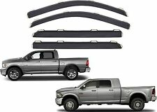 AVS 194109 In Channel Vent Visors For 2009-2017 RAM Crew Cab New Free Shipping