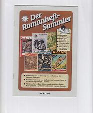 Der Romanheft-Sammler 1,2,3,4,5,6,9 (0-1/1) - (1) ab 1996 Sekundär Serien-Infos