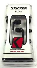 Kicker Flow EB72B  Earbuds Legendary Kicker Bass