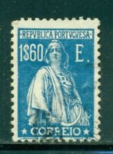PORTUGAL Sc298N SG720 Used 1924 1.60eblue Ceres Perf12X11&1/2 With Imprint SCV$5