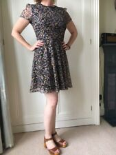 Oasis floral lace dress, size small, immaculate condition