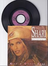 "Shari Belafonte, give a Little Love, VG/VG + 7"" single 0983-9"