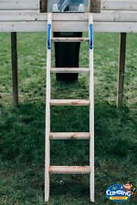 Routed Steps for Climbing frame, 5ft High Quality Playhouse Ladder, NEW