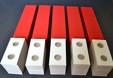 500-2x2 cardboard mylar coin holders flips for PENNY,CENT + 5 STORAGE BOXES NEW!