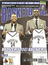 Beckett Basketball Magazine Paul Pierce Garnett Brooklyn Nets on Cover Sept 2013