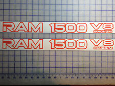 Dodge Ram 1500 V8 Magnum - Door Replacement Decals + Your Choice of Color