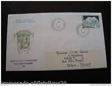 TAAF carta 1/1/1989 - sello yt nº145 (cy3)