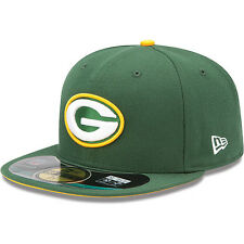 New Era Hat Cap NFL Football Green Bay Packers 7 3/8 59fifty 2012 Sideline