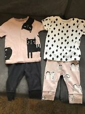 MY K by Myleene Klass Baby Girl Top and Leggings Bundle - Size 18-24 Months