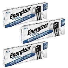 30 x AA Mignon Energizer Ultimate Lithium Batterie FR6 L91 1,5V im Streifen