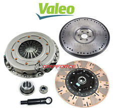 VALEO KING COBRA DUAL-FRICTION CLUTCH KIT & HD FLYWHEEL 86-95 FORD MUSTANG 5.0L