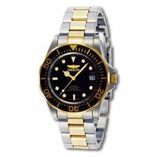 Invicta Men's Watch Pro Diver Black Dial Automatic Stainless Steel Bracelet 8927