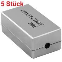 DSL LAN CAT5e Adapter Verbindungsstück Verbindung für Netzwerk Patch Kabel LSA
