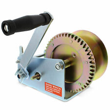 ABN Hand Crank Gear Winch, Heavy Duty, up to 2500 lbs for Trailer, Boat or ATV