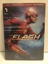 Flash: The Complete First Season (DVD, 2015, 5-Disc Set) New/Sealed