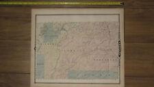 1878 Atlas - Chippewa County, Wisconsin Map ORIGINAL - WI falls city Neillsville