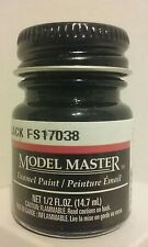 Testors Model Master Enamel paint 1747, Gloss Black. 1/2fl.oz  (14.7ml.)