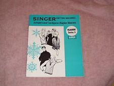 KNITTING MACHINE MAGAZINE SINGER CLASSIC SERIES 5 8PLY