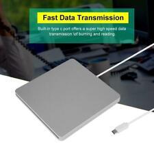 Type C USB-C External DVD RW CD Writer Drive Reader Player For Macbook RM