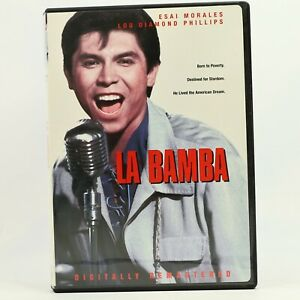La Bamba Lou Diamond Phillips Richie Valens Rare R1 DVD GC Free Track Post