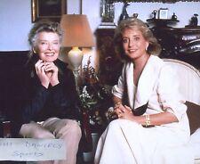KATHERINE HEPBURN BARBARA WALTERS INTERVIEW 1981  8 X 10 PHOTO 1
