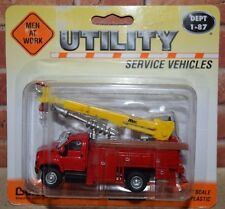 Boley GMC Men At Work Utility Hole Driller truck RETIRED 1:87 scale 3023-11 Red