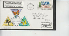RATTLE SNAKE ISLAND LOCAL POST FORD TRI MOTOR SERVICE NOV 18 1975 3 BUTTERFLIES