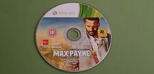 Max Payne 3 XBox 360 Game - Rockstar *Multiplayer & Single Player DIsc 1 Only*